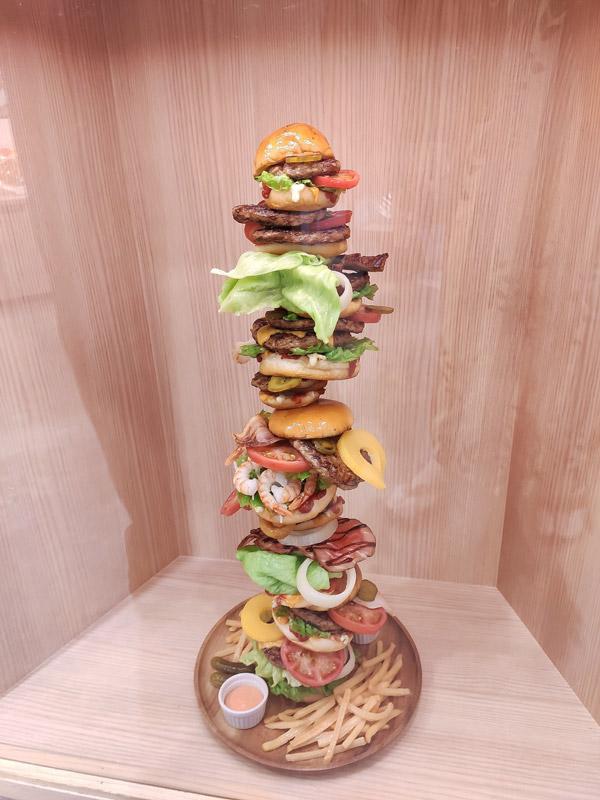 Echidna Photographie – Burger géant à la japonaise, Kyoto