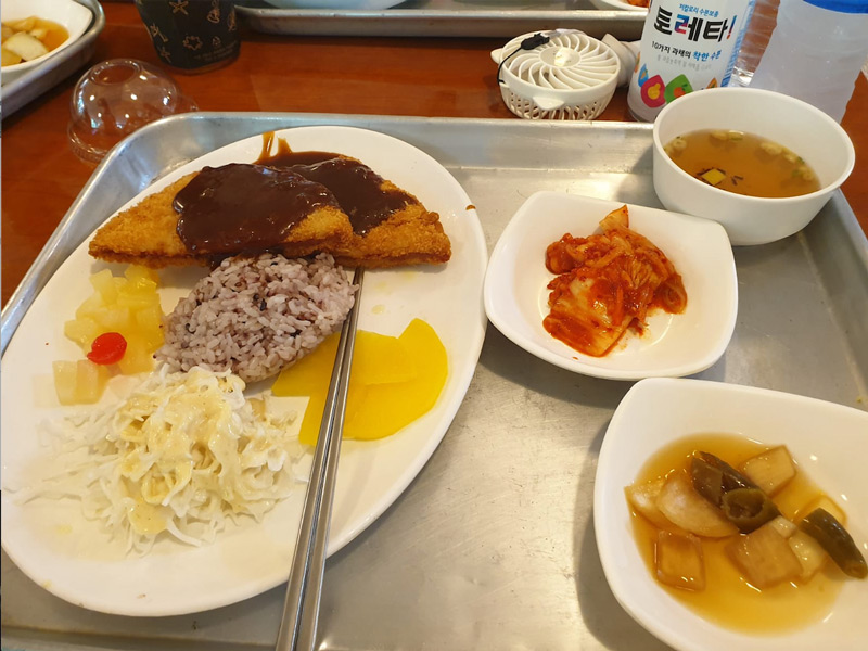 Lu Li – plateau repas à Séoul 19
