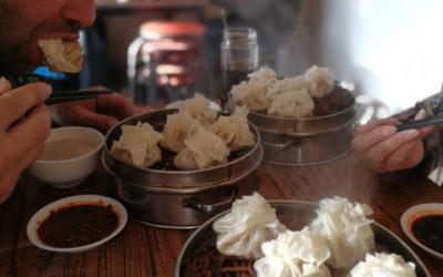 Shao mai à Baotou, Mongolie intérieure