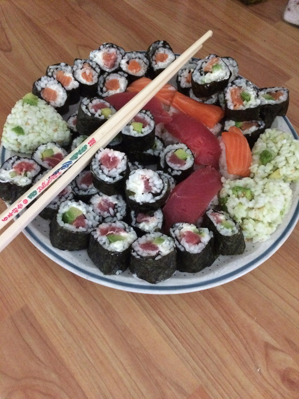 Jeanne Garnier – sushis maison