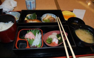 Dans un petit restaurant aux alentours du Parc Ueno, Tokyo
