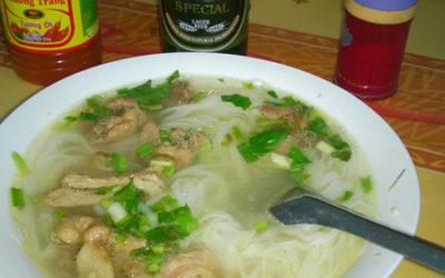 Soupe phô à Ninh Binh, Vietnam