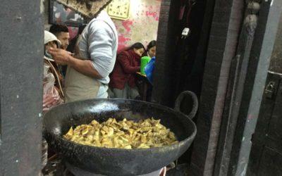 Restaurant à Patan, Népal