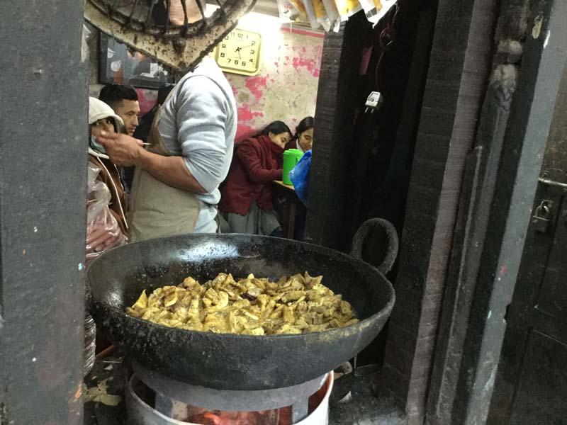 Jean-Pierre Gimenez – restaurant à Patan, Népal