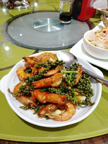 Kévin Tang – crevettes au poivre de Kampot, Sihanoukville, Cambodge