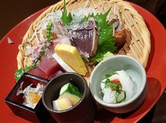 Sashimis à Osaka