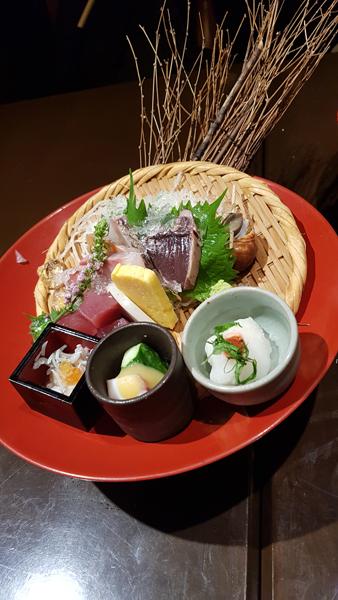 Lionel Turpin – sashimis à Osaka