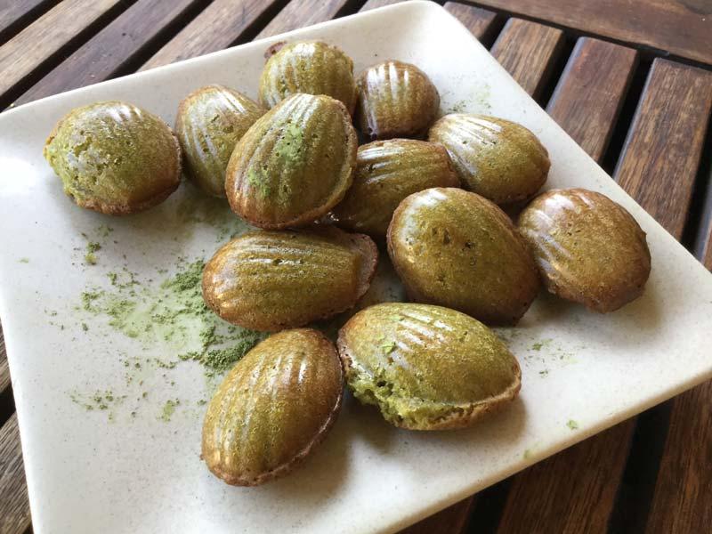 Martine Gimenez – petites madeleines au yuzu