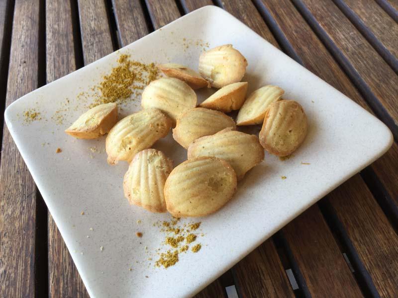 Martine Gimenez – petites madeleines au curry