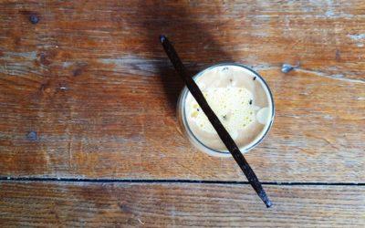 Egg Latte à la vanille