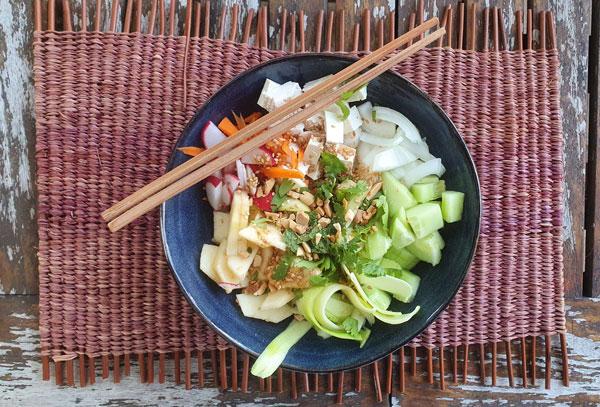 Maurine Duet – végé Poke Bowl inspiration thaï
