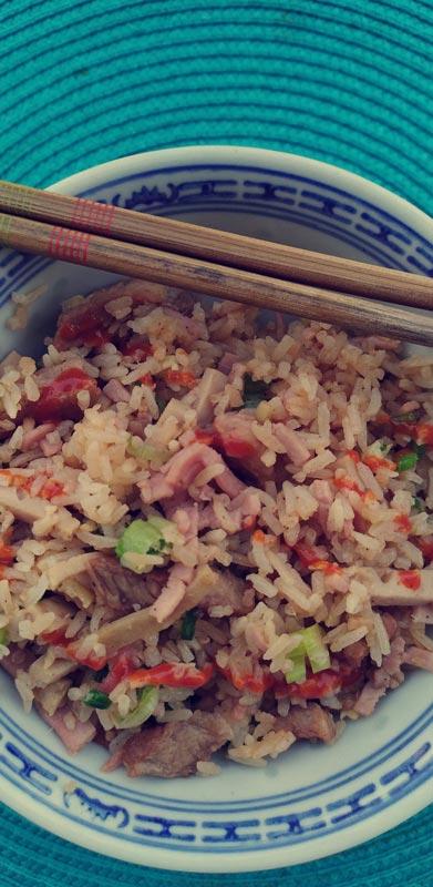 Pauline Bouteille Pham Gia – riz sauté vietnamien