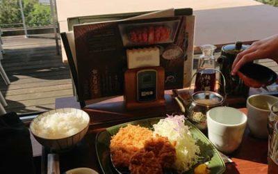Excellent repas avec vue imprenable sur la baie d'Odaiba, Japon